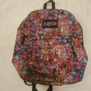 Jansport colorful backpack